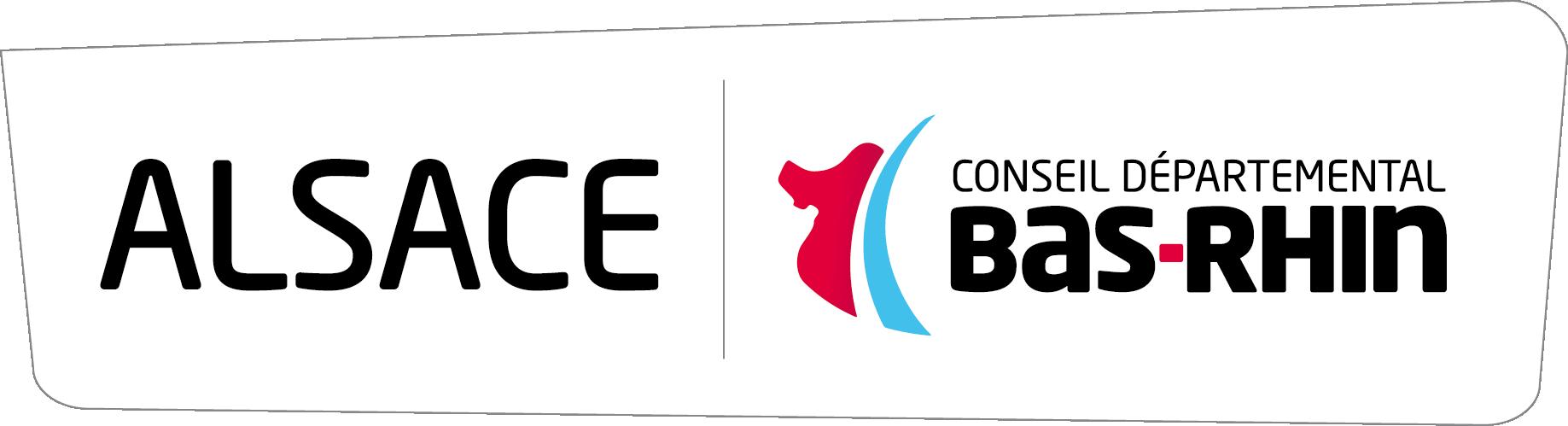 Logo du conseil départemental du Bas-Rhin CD67